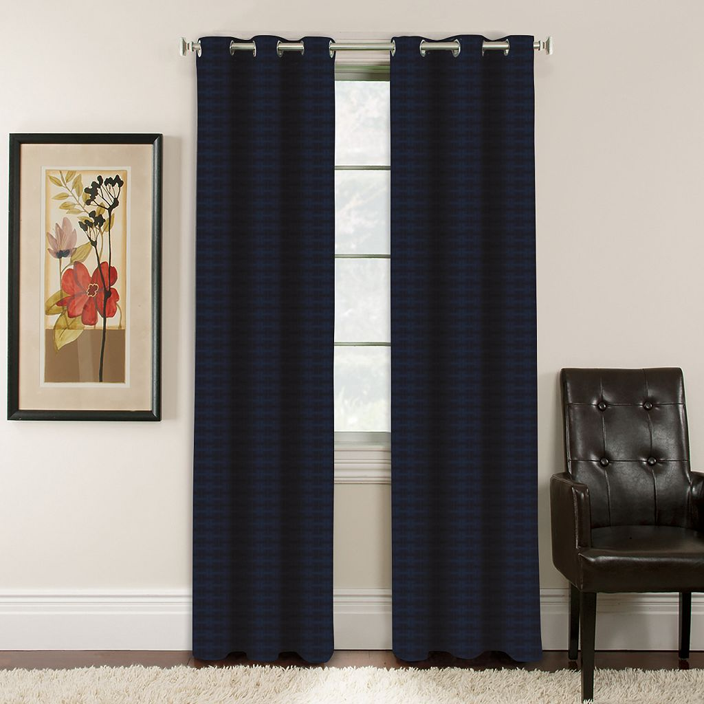 Arlee Window Accents Lynette Jacquard Blackout Curtain