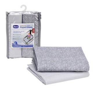 Chicco 2-pk. Waterproof Playard Sheet Set