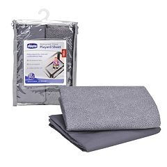 Chicco 2 pkWaterproof Playard Sheet Set