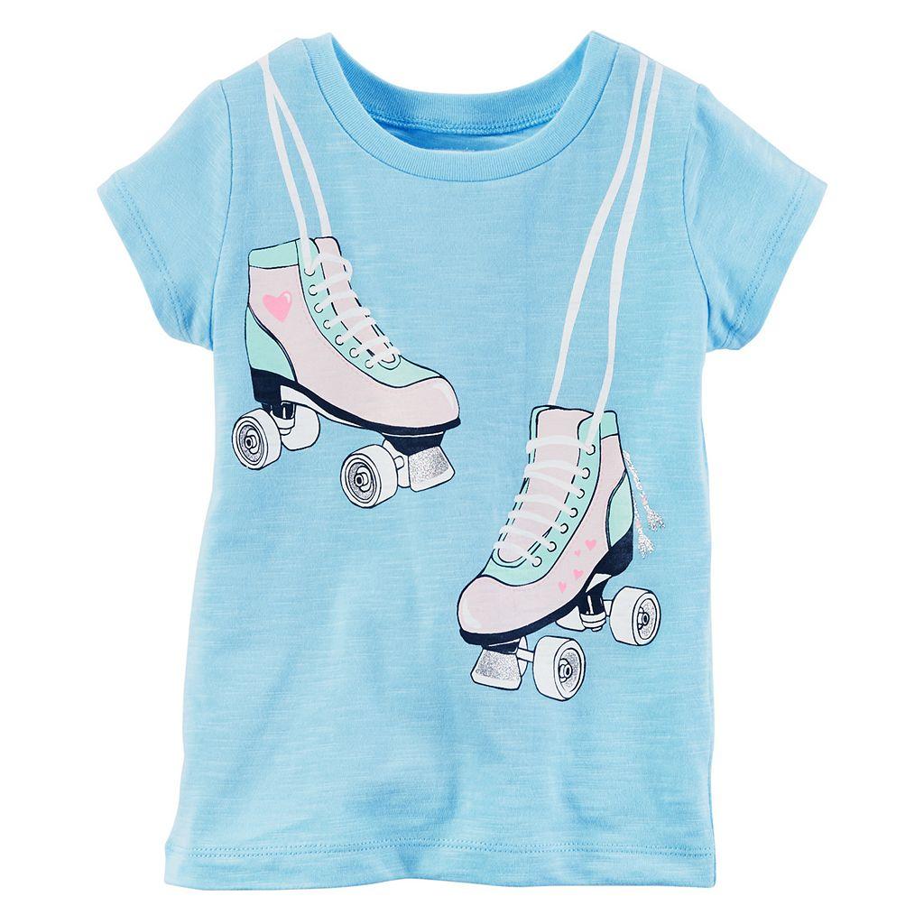 Girls 4-6x Carter's Roller Skates Graphic Tee