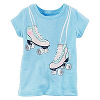 Girls 4-6x Carter's Roller Skates Graphic Tee