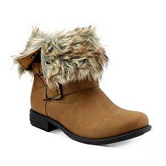Olivia Miller Crescent Women's Moto Boots