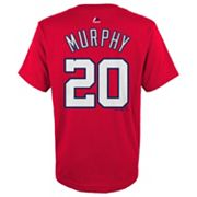 Boys 8-20 Majestic Washington Nationals Daniel Murphy Player Name and Number Tee