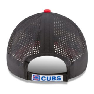 Adult New Era Chicago Cubs 9FORTY Perf Pivot Adjustable Cap