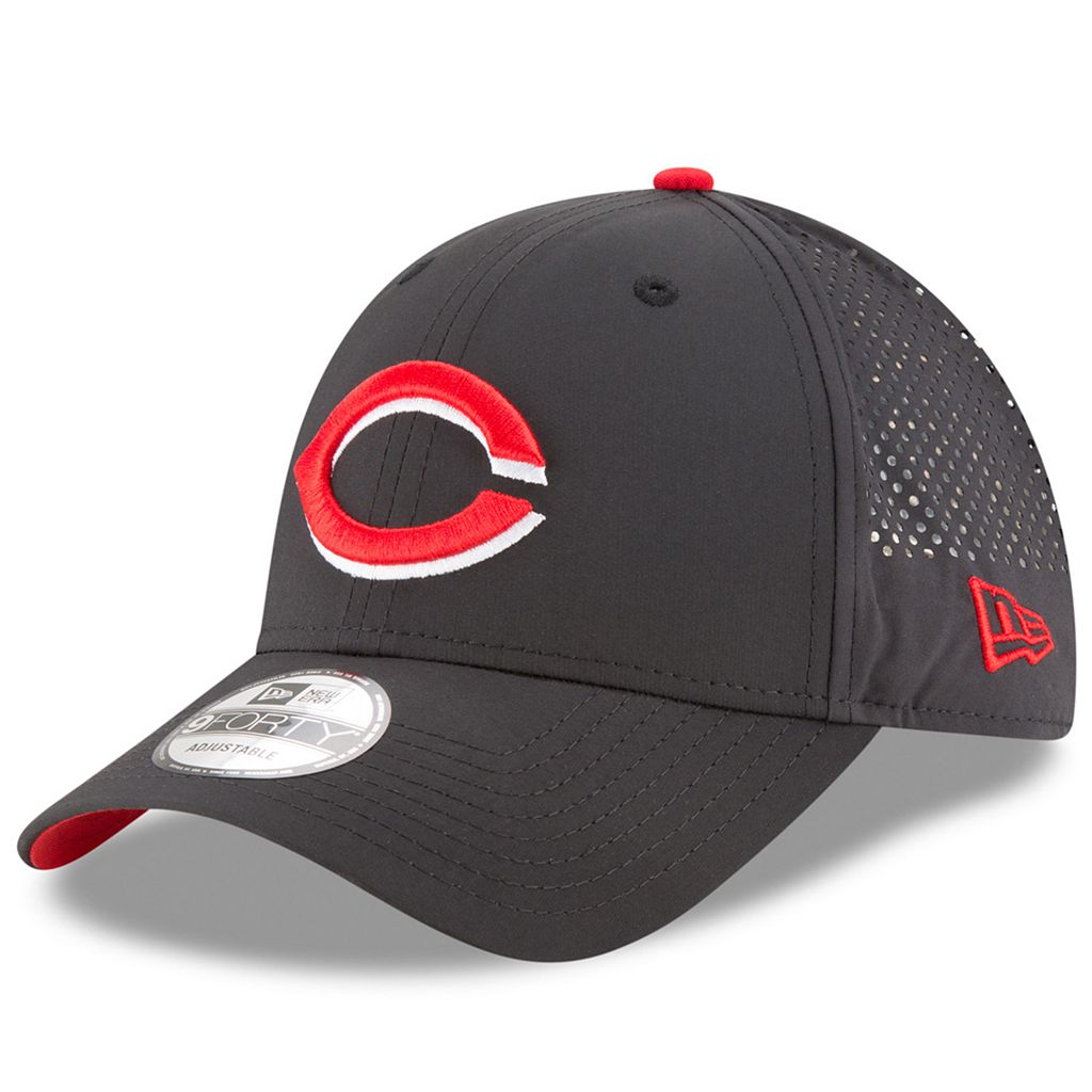 Adult New Era Cincinnati Reds 9FORTY Perf Pivot Adjustable Cap