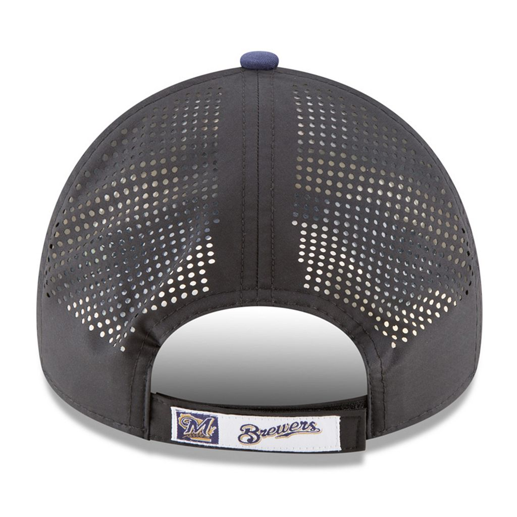 Adult New Era Milwaukee Brewers 9FORTY Perf Pivot Adjustable Cap