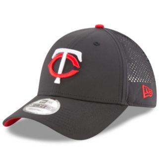 Adult New Era Minnesota Twins 9FORTY Perf Pivot Adjustable Cap