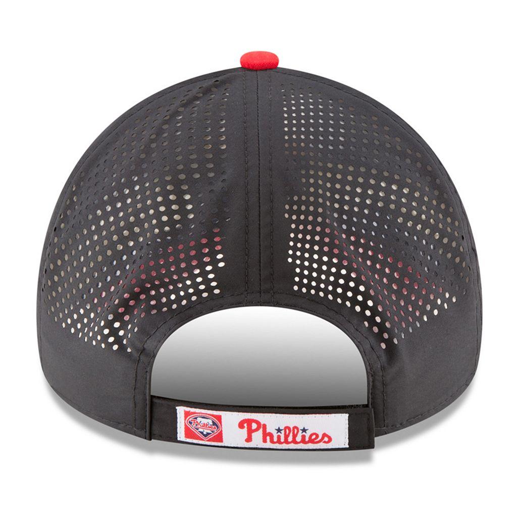 Adult New Era Philadelphia Phillies 9FORTY Perf Pivot Adjustable Cap