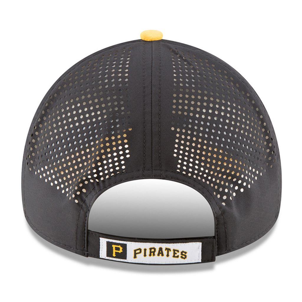 Adult New Era Pittsburgh Pirates 9FORTY Perf Pivot Adjustable Cap
