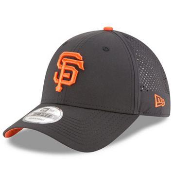 Adult New Era San Francisco Giants 9FORTY Perf Pivot Adjustable Cap