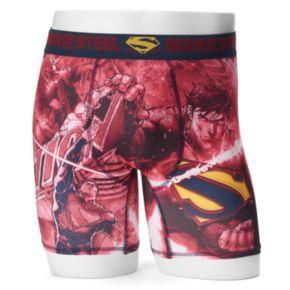 Men's DC Comics Superman Sublimated Boxer Briefs