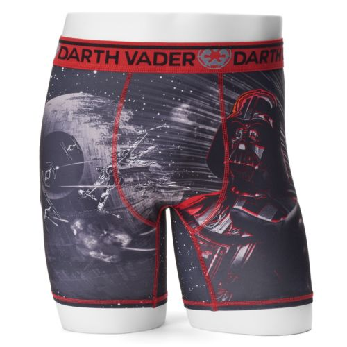 Men's Star Wars Darth Vader Sublimated Boxer Briefs