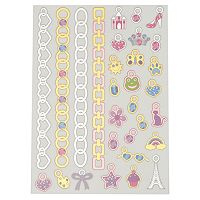 Charm Bracelet Temporary Tattoo Kit