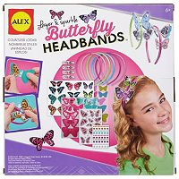 ALEX Layer & Sparkle Butterfly Headband