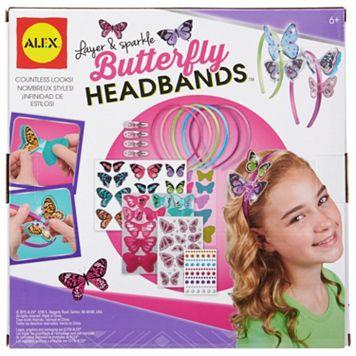 ALEX Layer & Sparkle Butterfly Headband