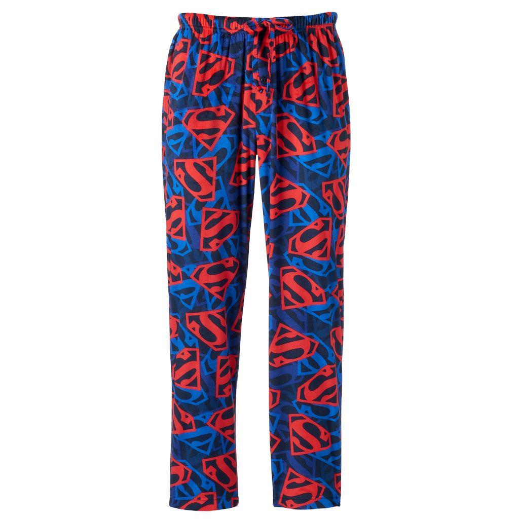 Men's DC Comics Superman Shield Fleece Lounge Pants