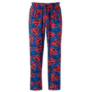 Men's DC Comics Superman Shield Fleece Lounge Pants