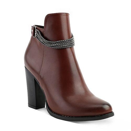 Olivia Miller Prospect Women's High Heel Ankle Boots