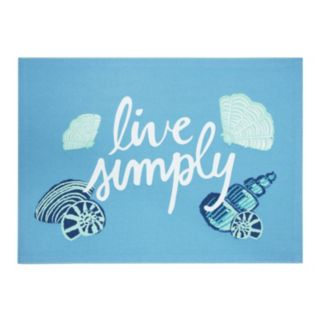 "Celebrate Summer Together ""Live Simply"" Placemat"