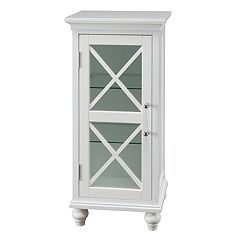 Elegant Home Fashions Wyatt One Door Floor Storage Cabinet