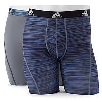 Men's adidas Climalite Performance 2-Pack Boxer Briefs