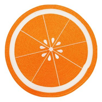 Celebrate Summer Together Orange Placemat