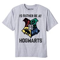 Boys 8-20 Harry Potter Rather be at Hogwarts Tee