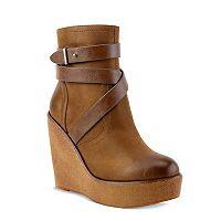 Olivia Miller Pelham Women's Wedge Ankle Boots