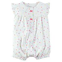 Baby Girl Carter's Rainbow Sprinkle Romper
