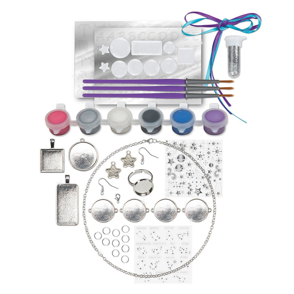 ALEX Toys Paint & Sparkle Galaxy Jewelry Kit
