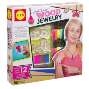 ALEX Toys Stitch & Wear Wood Jewelry Kit