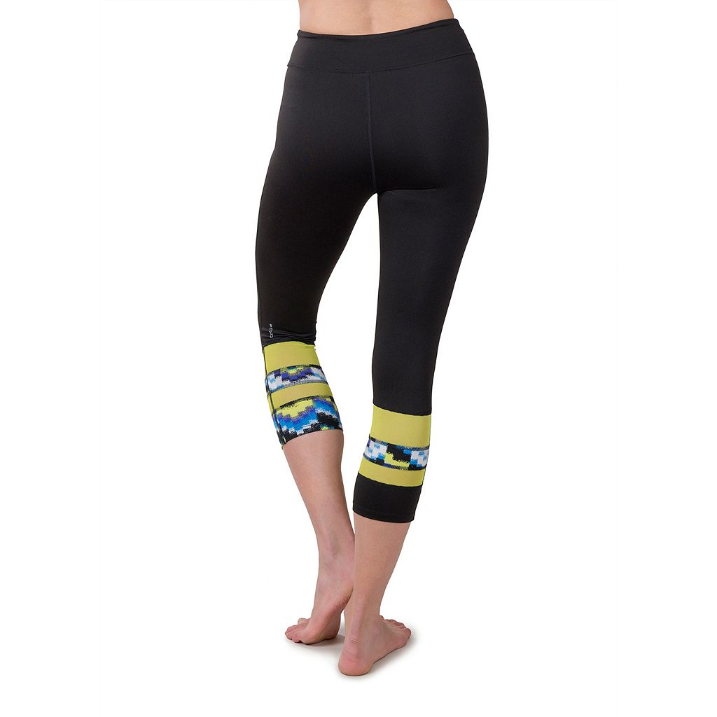 Women's Soybu Long Board Capri Yoga Leggings