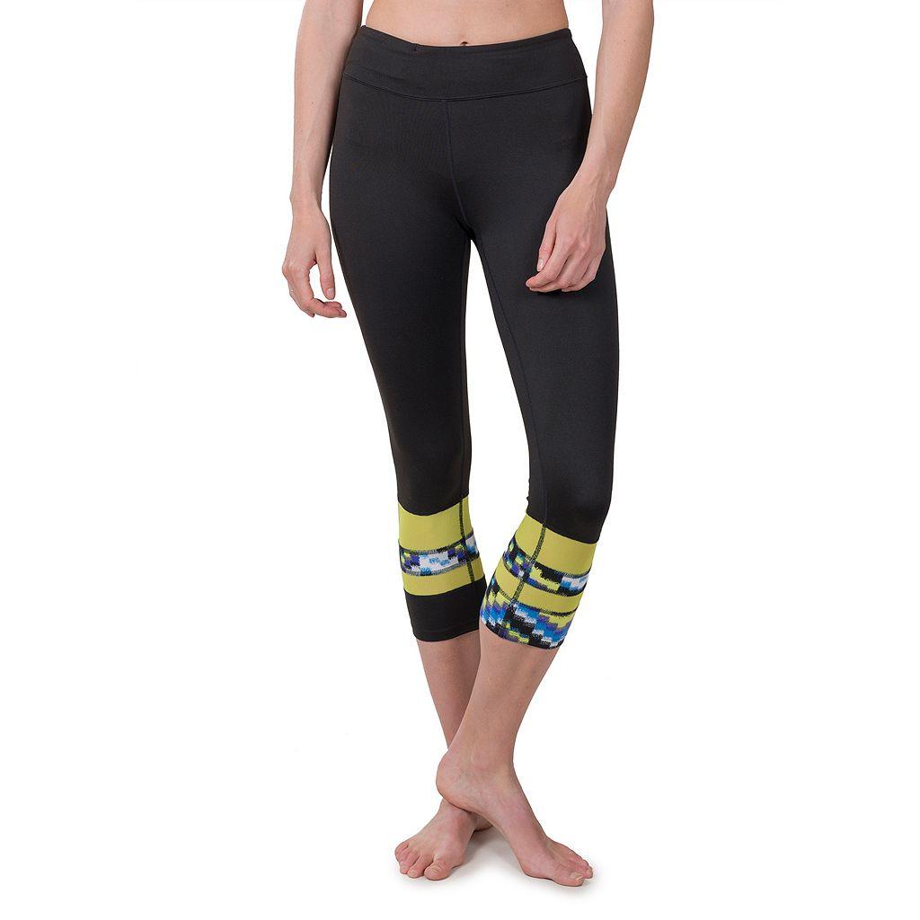 Women's Soybu Long Board Capri Yoga Leggings