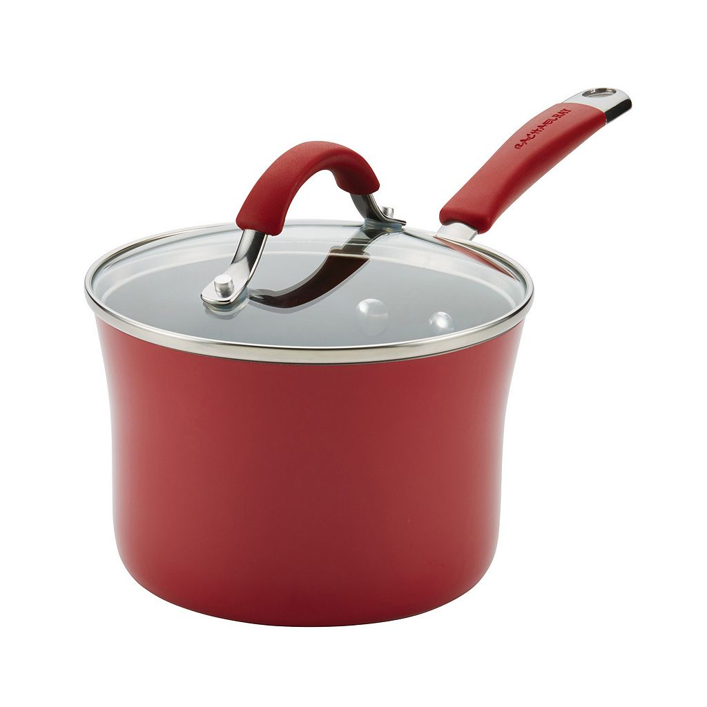 Rachael Ray Cucina 2-qt. Nonstick Aluminum Saucepan