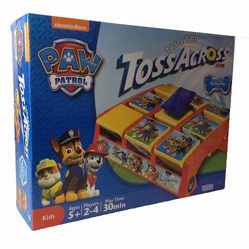 Nickelodeon Paw Patrol Tabletop Toss Across Tic-Tac-Toe Game