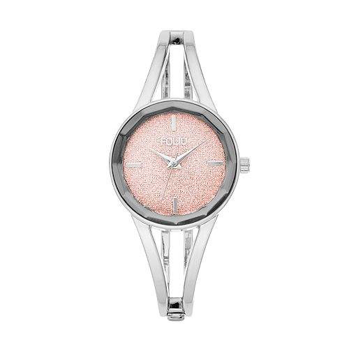Folio Women's Glitter Bangle Watch