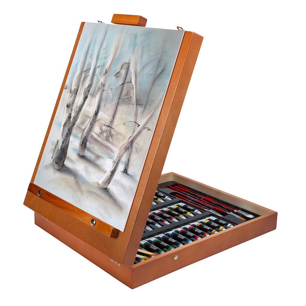 ALEX Art Studio Expressions Easel Case Artist Set