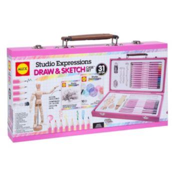 ALEX Art Studio Expressions Draw & Sketch Case Set