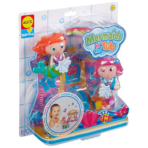 ALEX Toys Rub-A-Dub Mermaids in the Tub