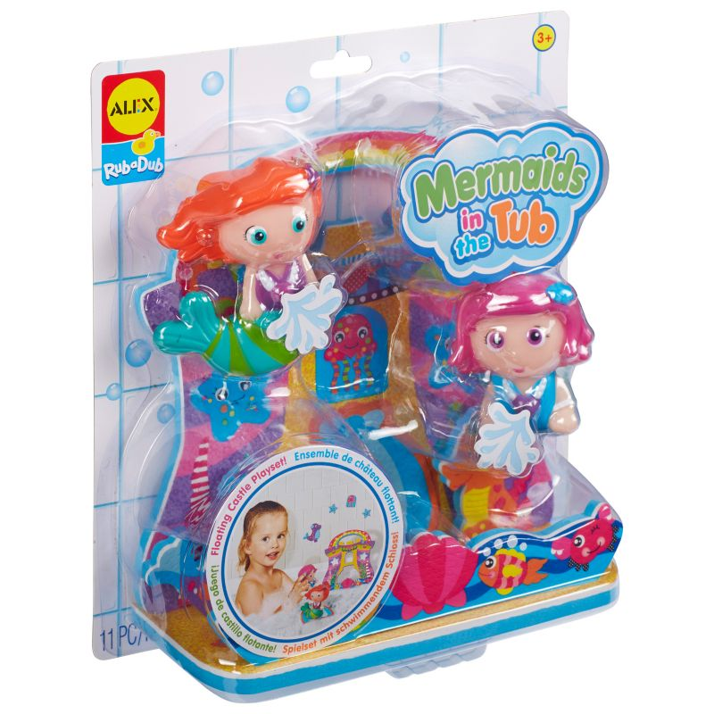 Alex Toys Rub-A-Dub Mermaids in the Tub, Multicolor