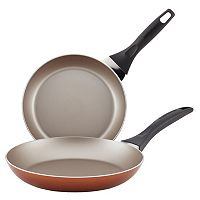 Farberware 2 pc Nonstick Aluminum Skillet Set