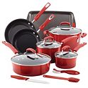 Rachael Ray 14-Piece Nonstick Cookware Set + $10 Kohls Cash