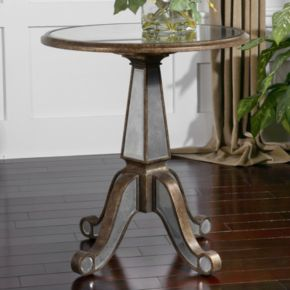 Erman Round End Table