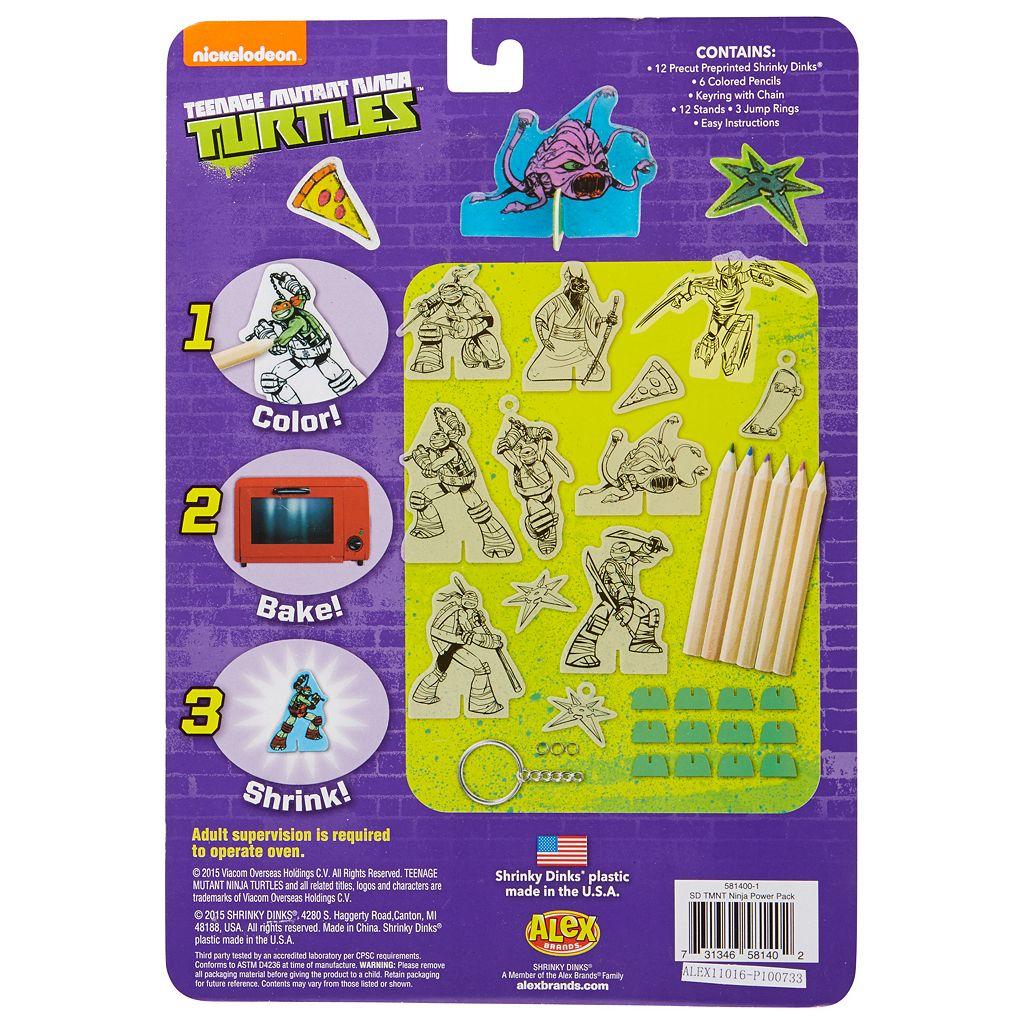 Teenage Mutant Ninja Turtles Shrinky Dinks Ninja Power Pack