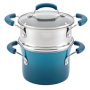 Rachael Ray 3-qt. Saucepot with Steamer Insert