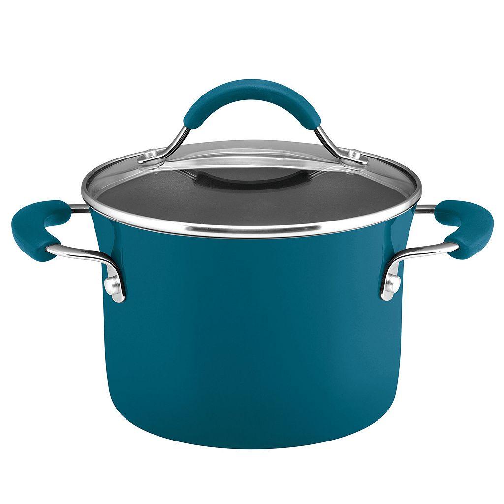 Rachael Ray 3-qt. Saucepot with Steamer Insert
