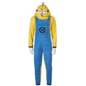 Men's Despicable Me Minion Microfleece Union Suit