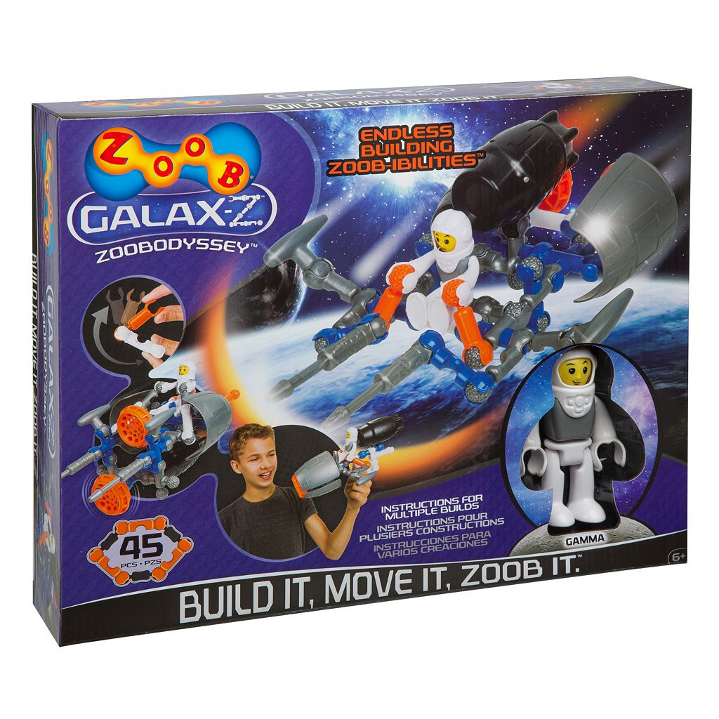 ZOOB 45-pc. Galaxz ZOOBodyssey Kit