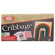 Ideal Folding Wood Cribbage Set
