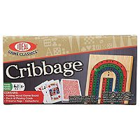 Ideal Folding Wood Cribbage Set